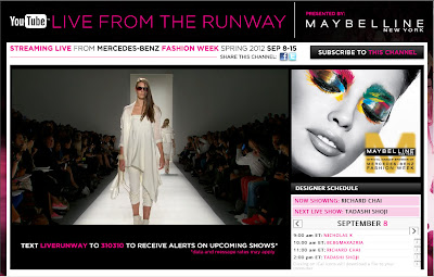 Live from the Runway  Presented by Maybelline New York