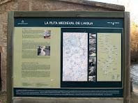 Rètol informatiu de l'origen i la història de la Sèquia de Manresa