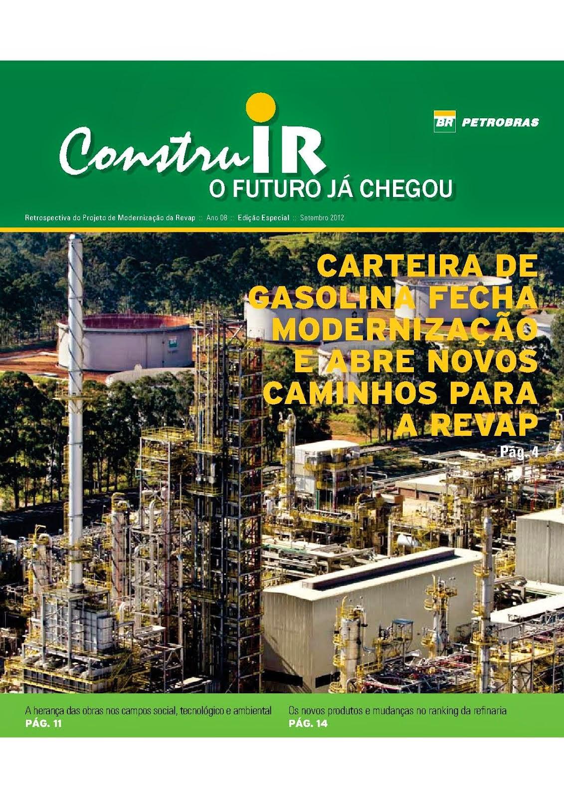 Edição especial do Jornal Construir (Petrobras/Revap)