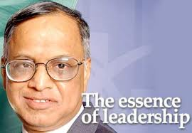 my role model narayan murthy That was the first time i saw 'appro jrd'  one day i was waiting for murthy, my husband,  i saw him as a role model .