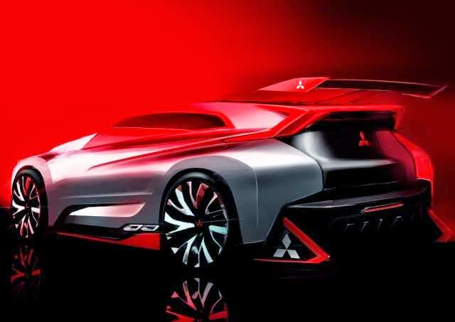 Gambar Mitsubishi XR-PHEV Evolution Gran Turismo - rear