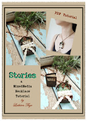 MixedMedia Necklace PDF Tutorial