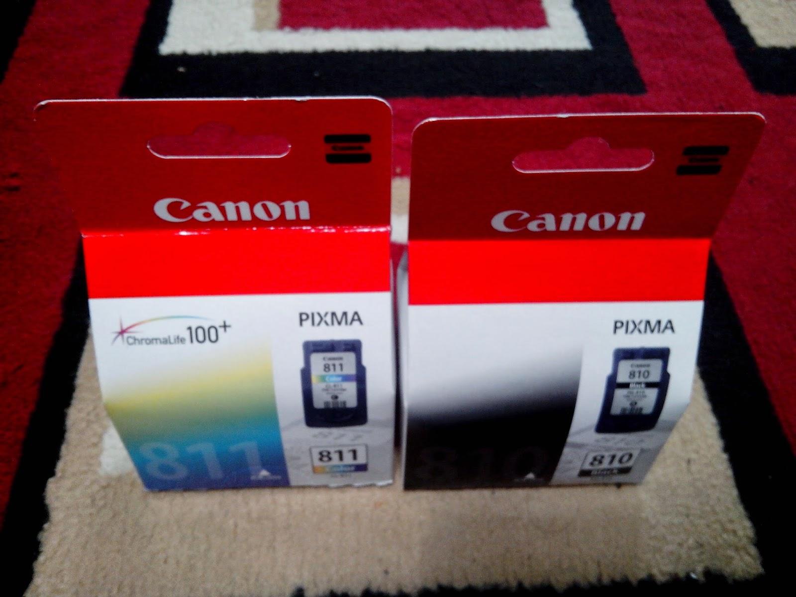 Cahaya Berkah Jual Cartridge Canon Pg 810 Cl 811 Catridge Buat Test Baru Original Untuk Printer