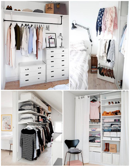 Mi planeta chic vestidores low cost for Ideas para closets pequenos