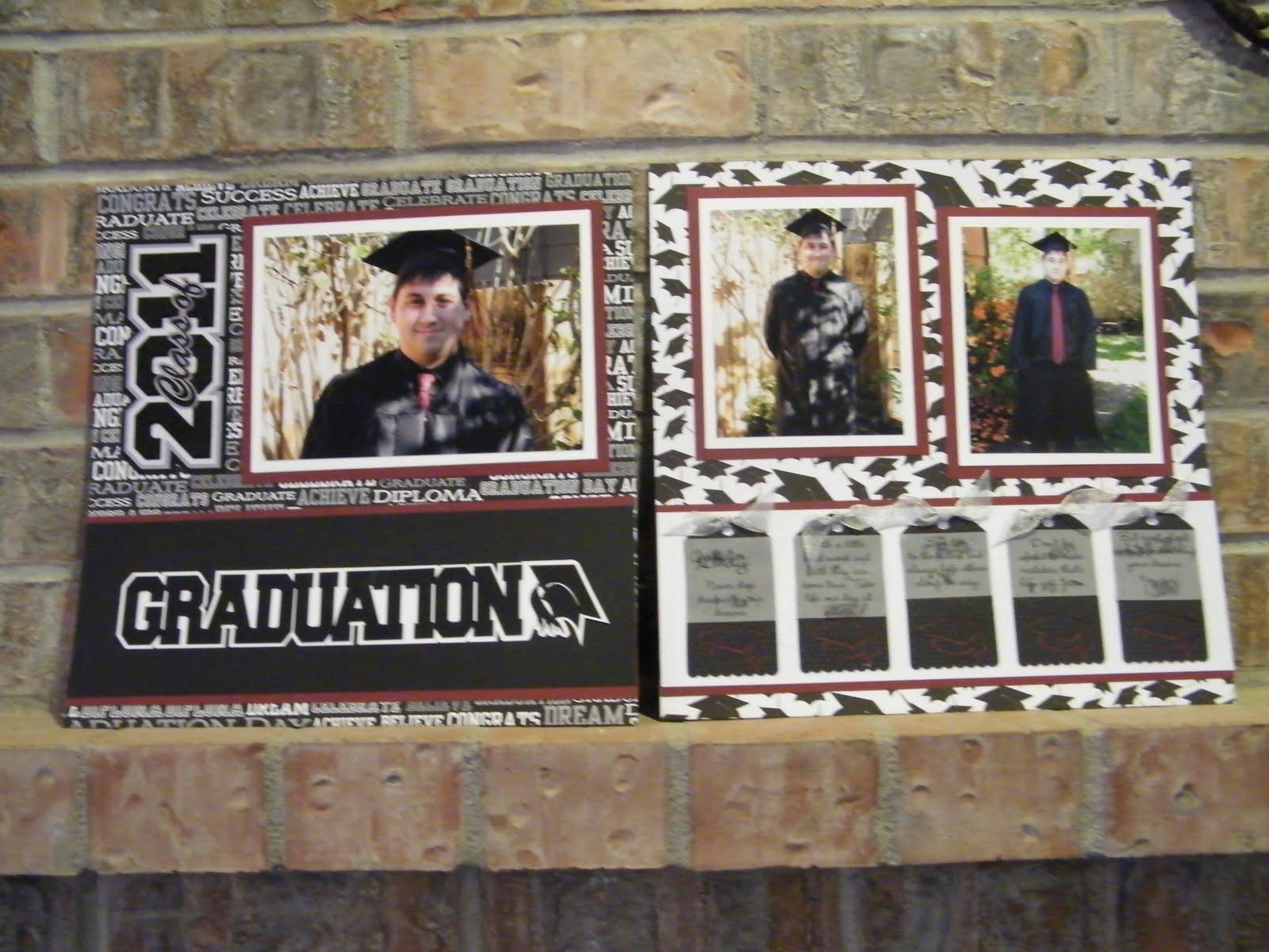 Scrapbook ideas graduation - And