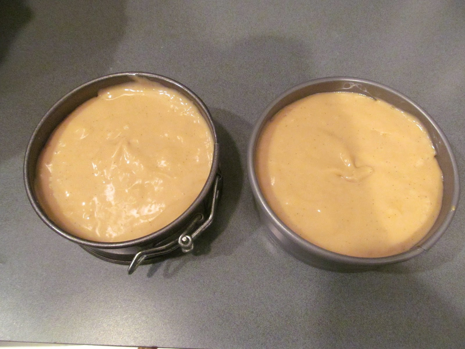 baking cheesecakes