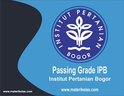 passing grade ipb 2016