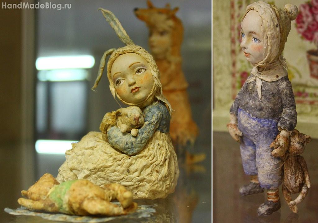 Мастер класс авторская кукла из папье