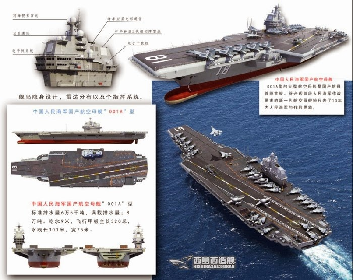 China S First Domestic Aircraft Carrier The Type 001a