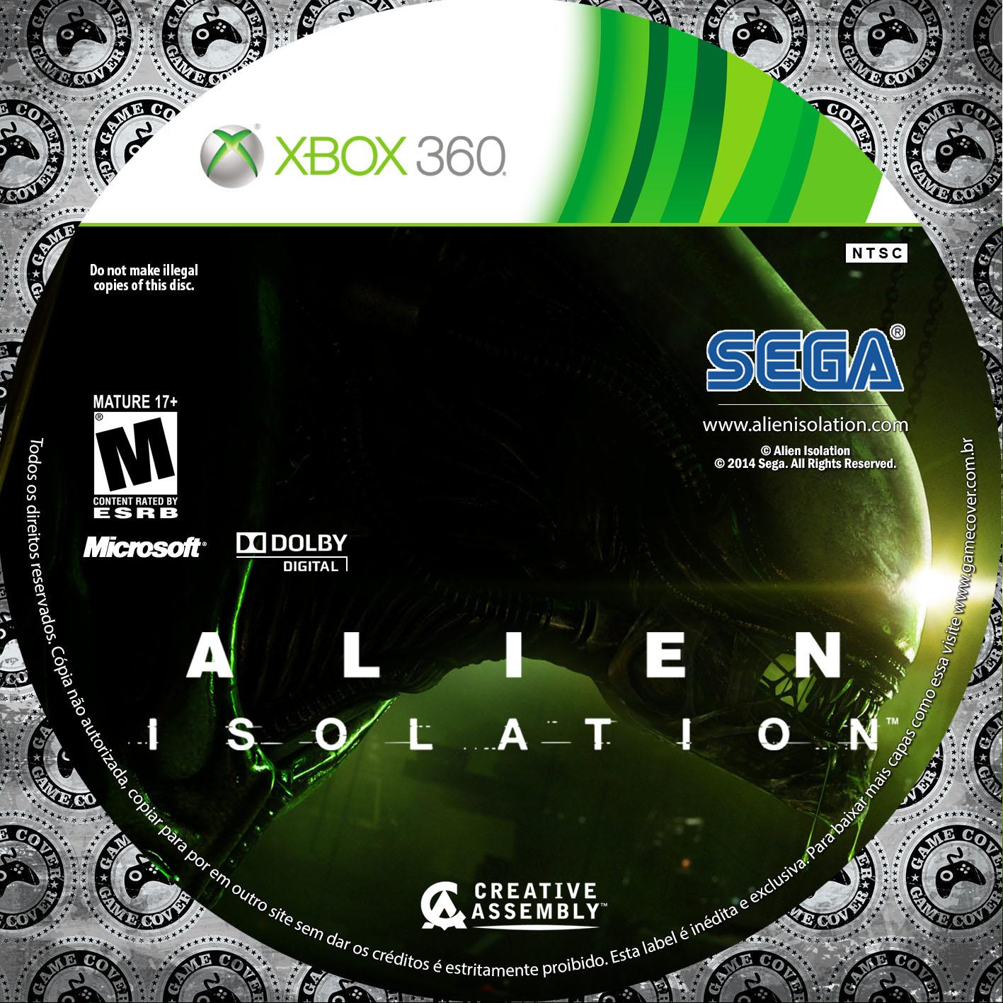 Label Alien Isolation Xbox 360 [Exclusiva]