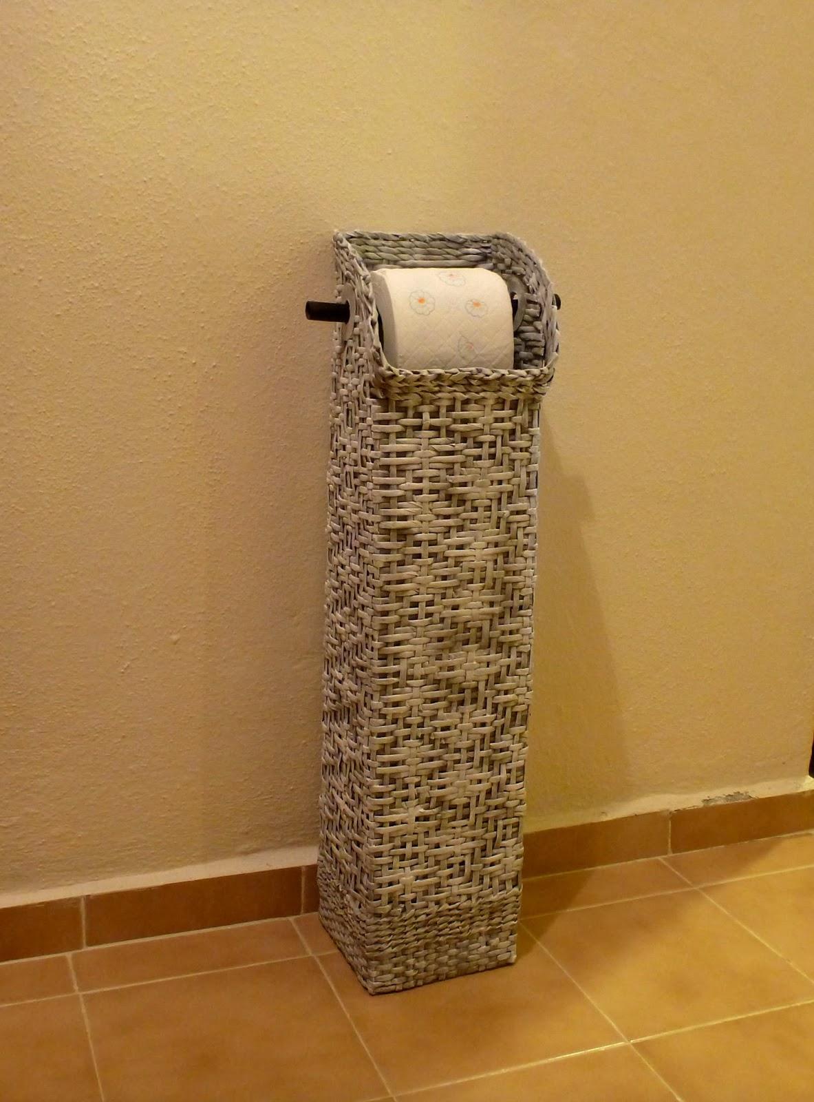 Gerry creations colonna porta rotoli d carta igienica e - Porta carta igienica ...