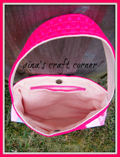 Gina's Craft Corner: Pretty in Pink Bag
