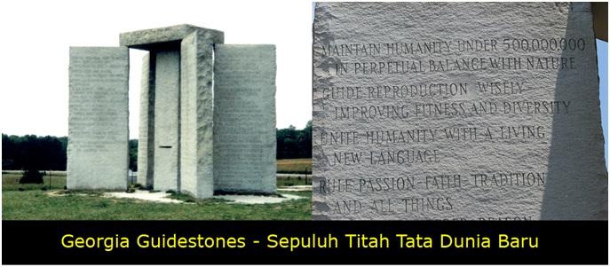versi bahasa Inggris– yang tertulis di atas batu tersebut berbunyi