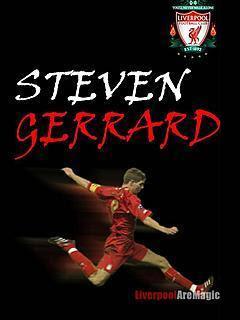 Steven Gerrald, Liverpool FC download besplatne pozadine slike za mobitele