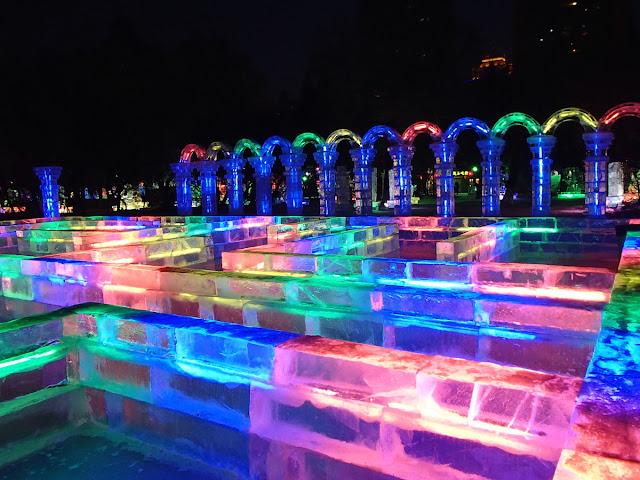 Zhaolin Park Ice Maze