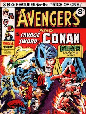 Marvel UK, the Avengers #102