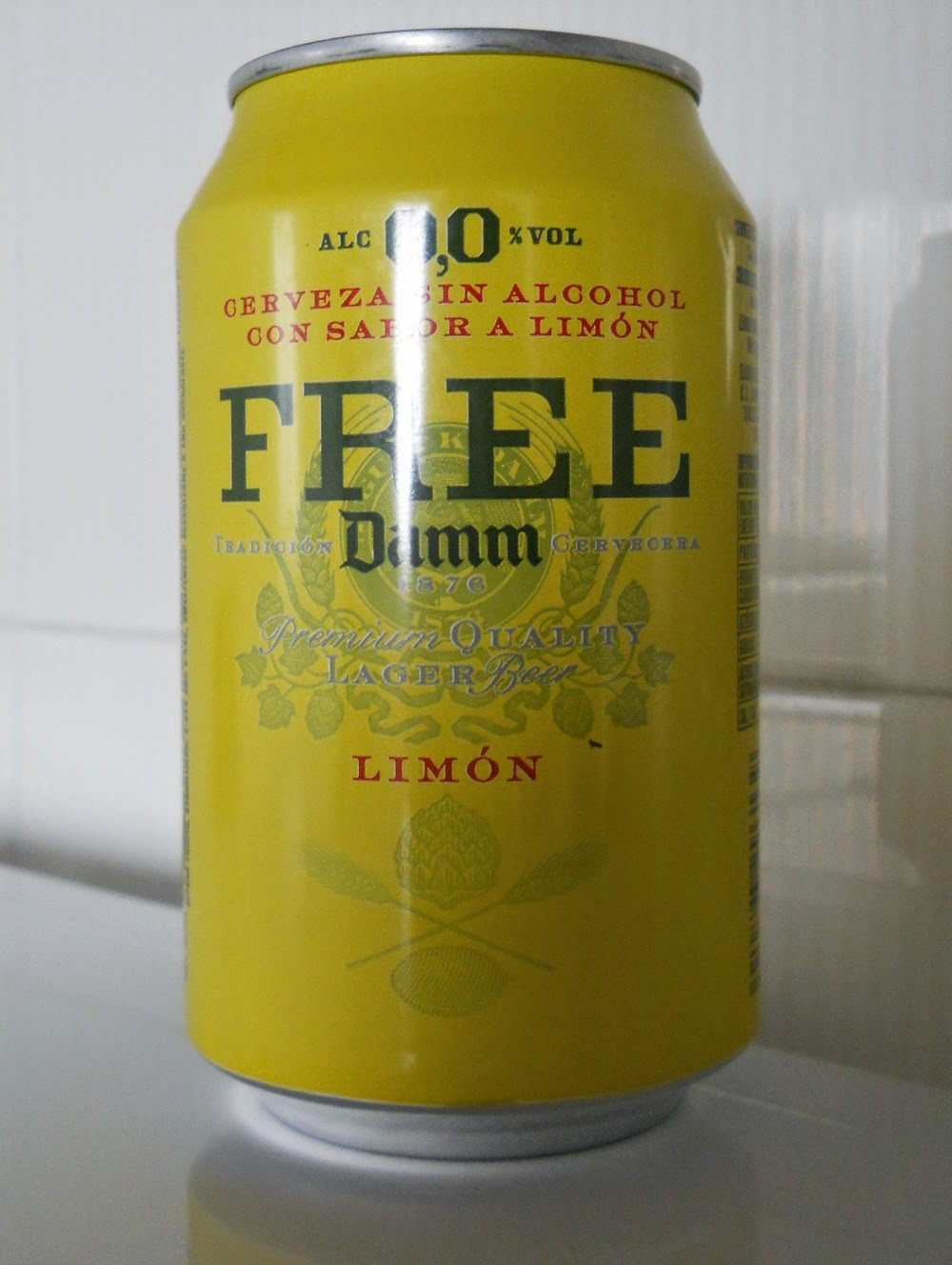 free damm limon quality lager beer