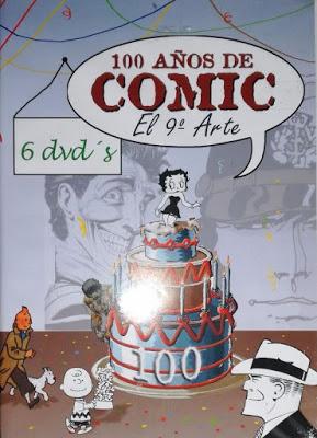 100 años de cómic (1893-1993): el 9º arte. [Vídeo] Aporte de Edwin Rojas