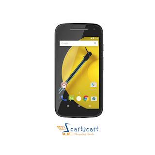 Moto E ( 2nd Gen ) 3G mobile offer by cart2cart