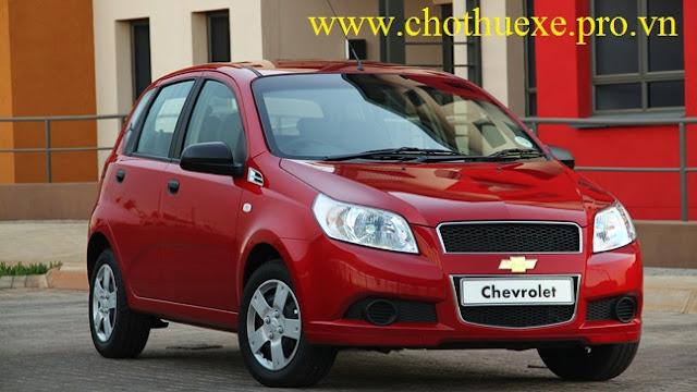 Cho thuê xe 4 chỗ Chevrolet Aveo giá rẻ