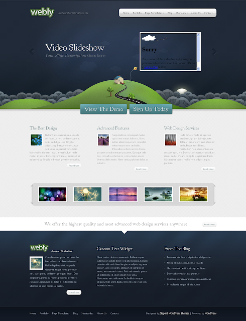 Webly Wordpress Theme Free Download by ElegantThemes.