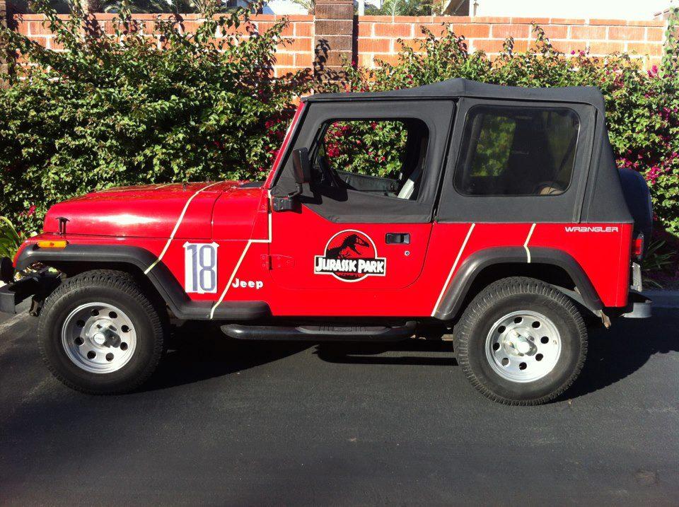 sasaki time: the jurassic park jeep has a fan page! (november 19, 2012)