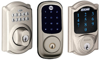 Spokane locksmith key-less entry deadbolt