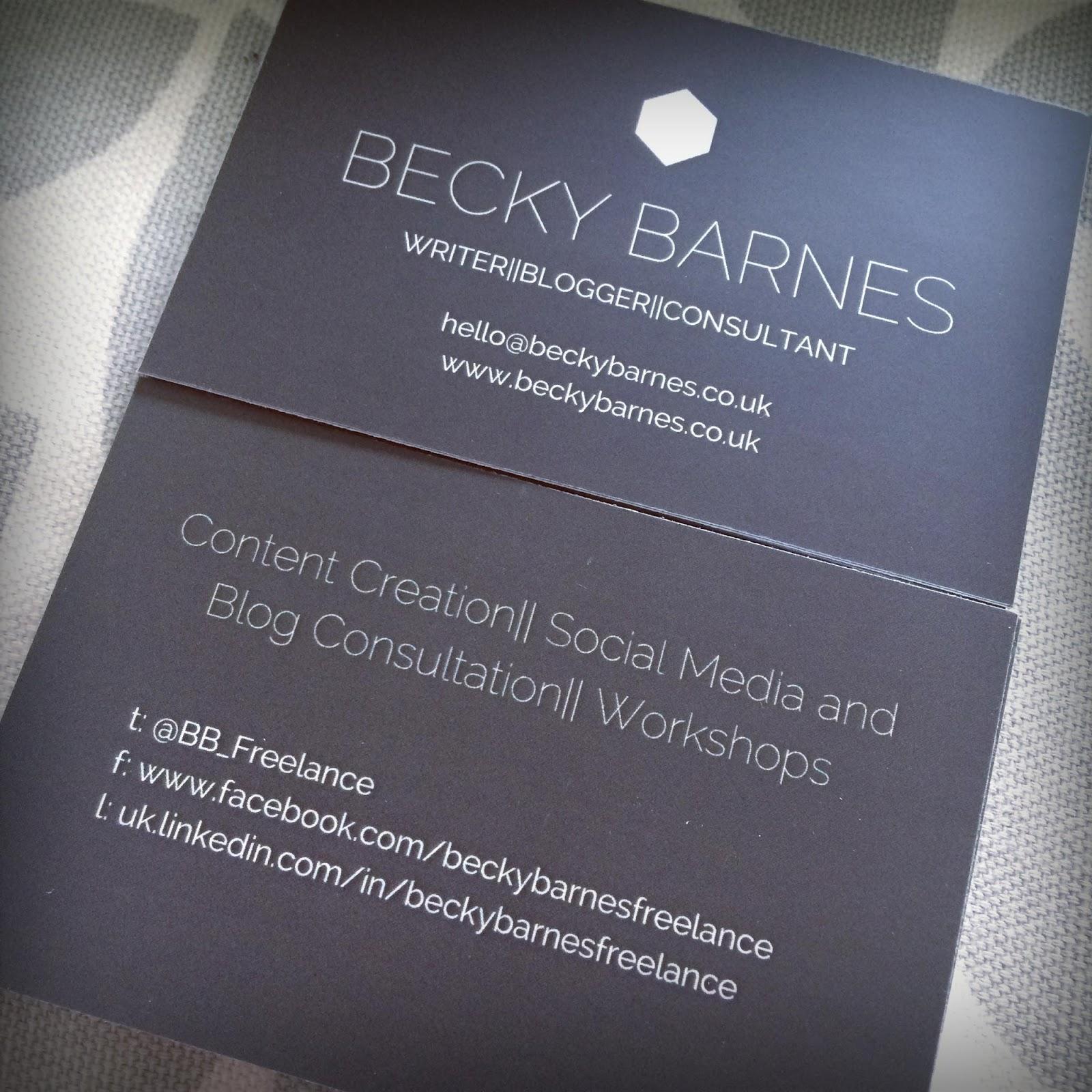 becky barnes blog
