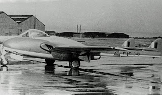 De Havilland Vampire FB.52, c. 1950s