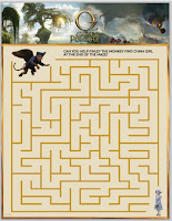 Maze through OZ game