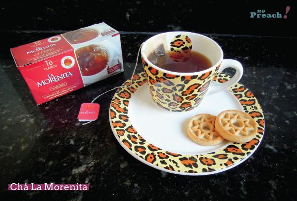 chá argentino - La Morenita