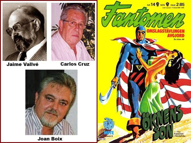 Fantomen. Nuevo proyecto de Gromaches y Temístocles: autores españoles