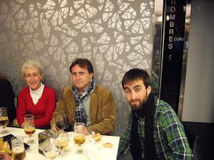 Con Jesús (padre e hijo) y Pilar