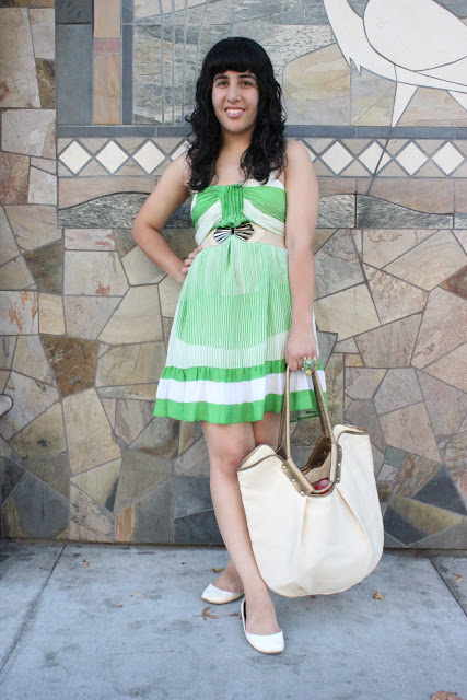 What to Wear with a Green Summer Dress