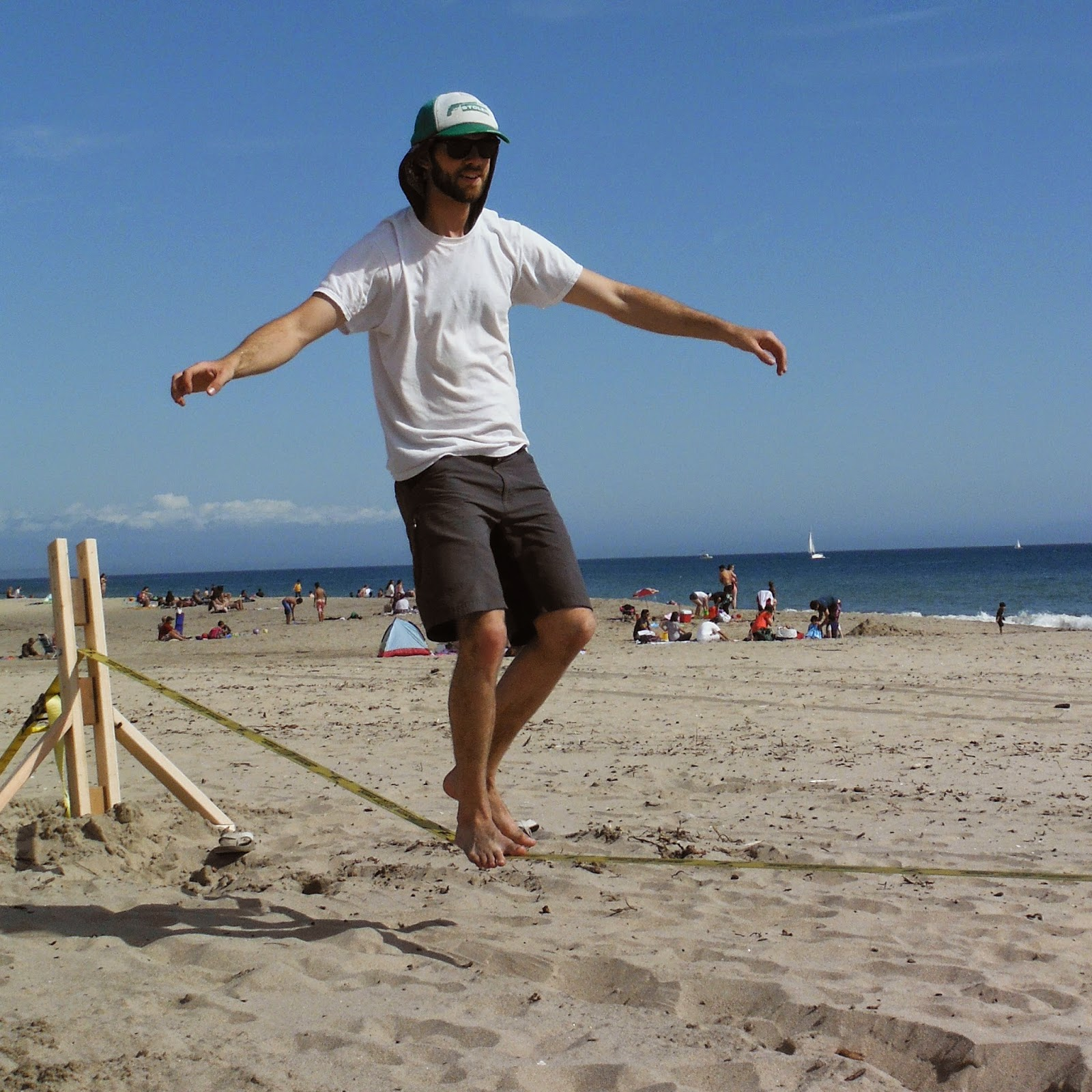 Anarchist Climber: Building a Beach Slackline A-Frame