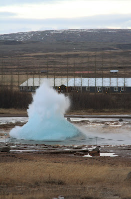 Strokkur Bubble About to Burst