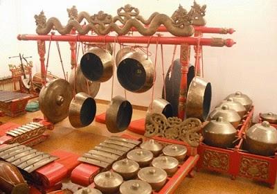 Gambar Alat Musik Tradisional Gamelan Jawa Seni Budaya Indonesia