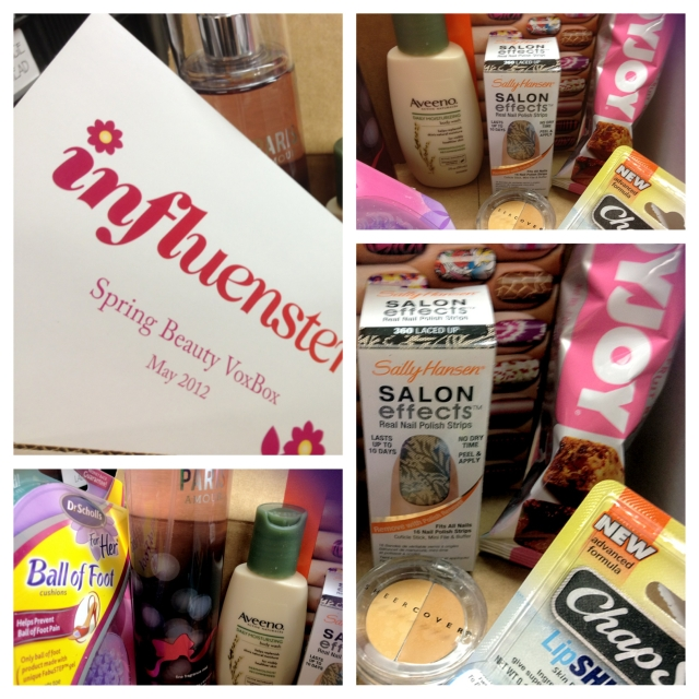 influenster Spring Beauty VoxBox May 2012