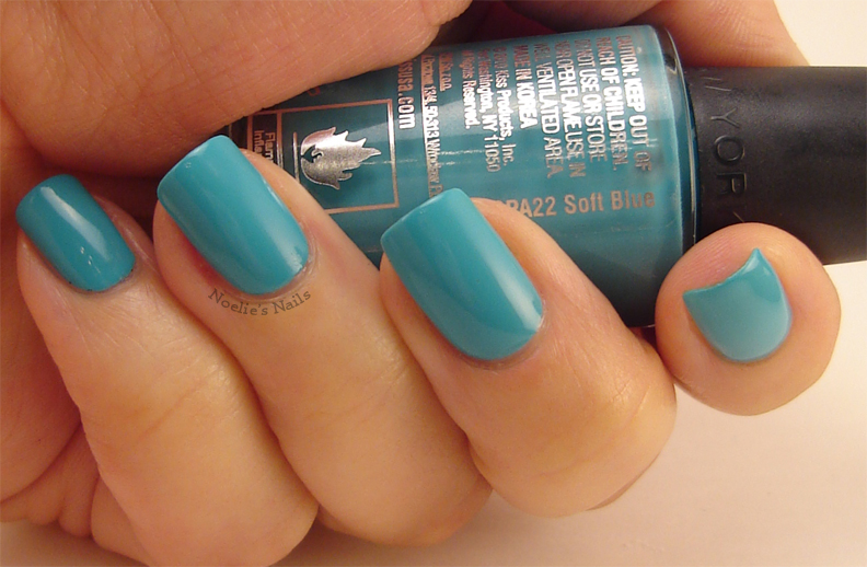 Noelie's Nails: Kiss Nail Art Paint - Soft Blue SPA22