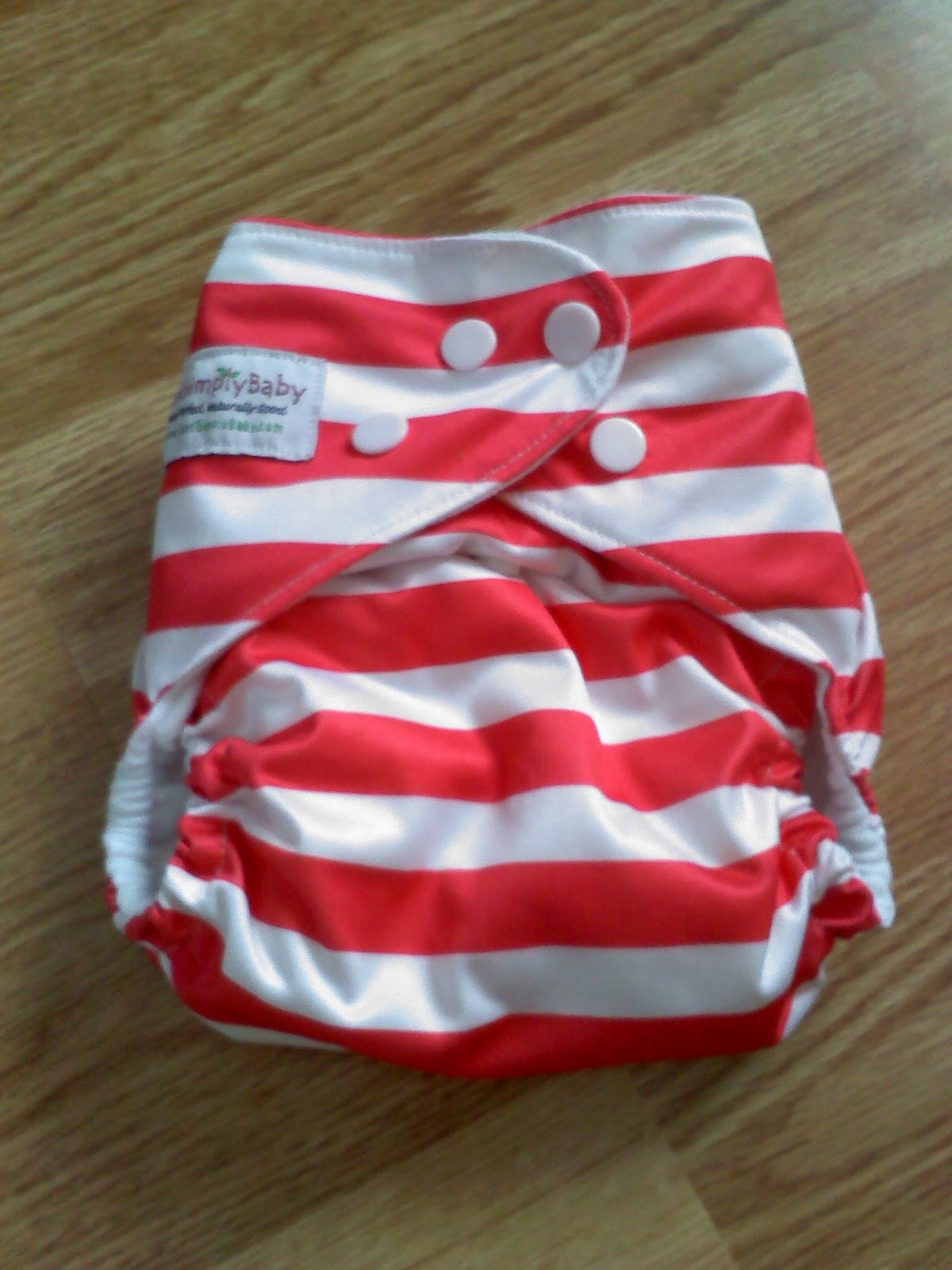 Just Me and the Boys Just Simply Baby Cloth Diaper Review