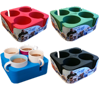 Muggi boat drink holder colors