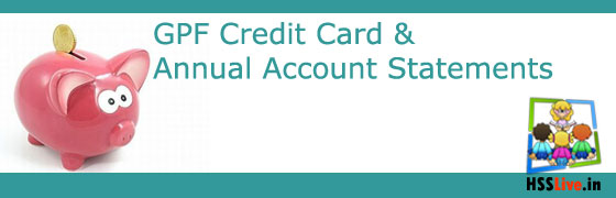 GPF Credit Card Annual Statements