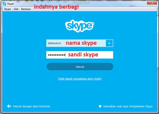 Cara Daftar dan Menggunakan Skype
