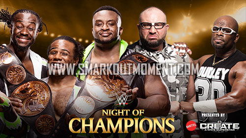 WWE Night of Champions 2015 Dudley Boyz vs New Day