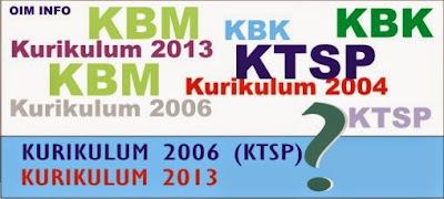 Perbedaan Antara Kurikulum 2006 dan Kurikulum 2013