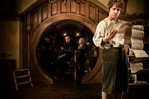 The Hobbit 2012 Bag End Martin Freeman Peter Jackson