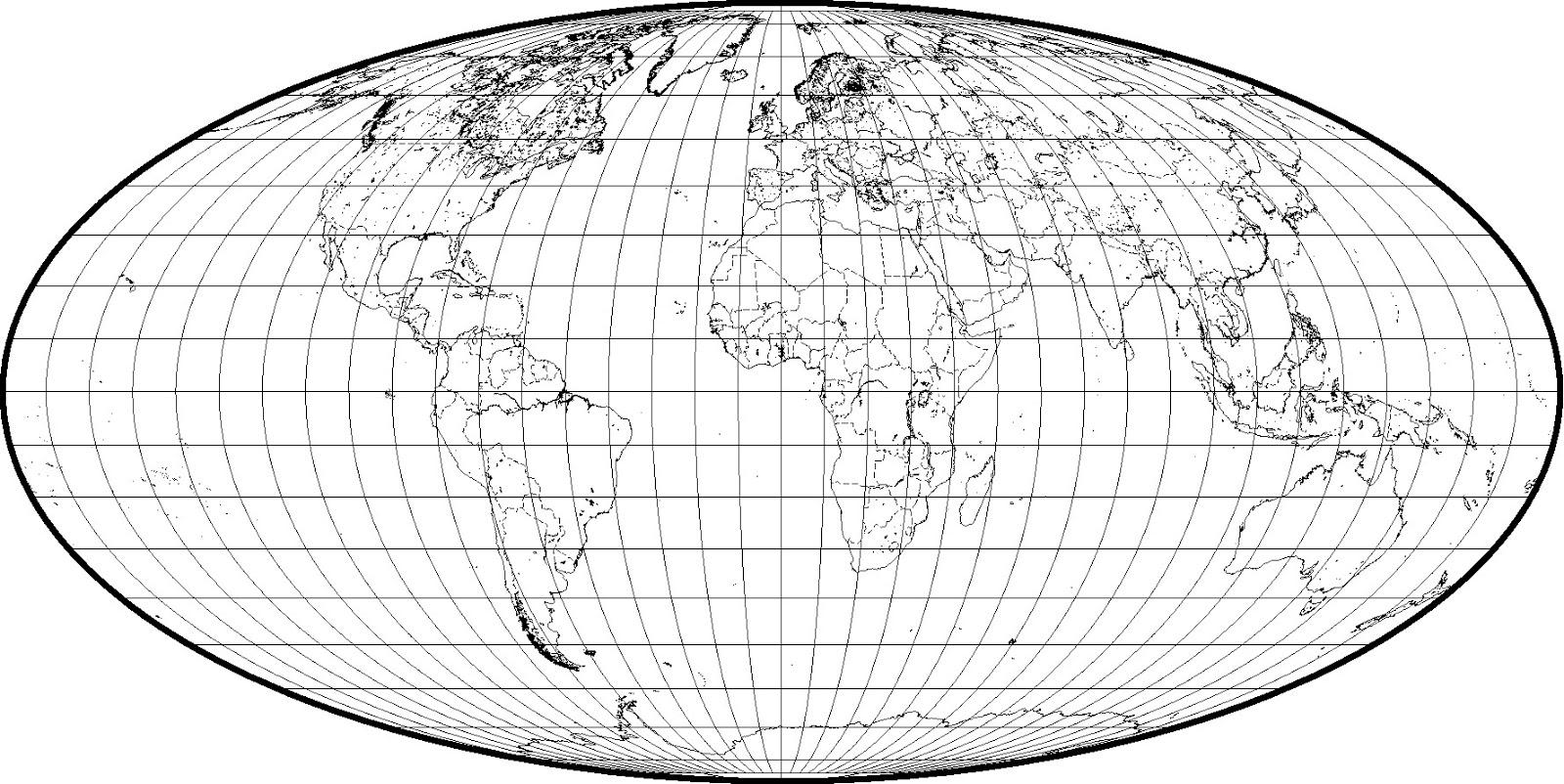 Mapas Geológicos: 1.1. Mapas Físico - Político. Mapamundi.