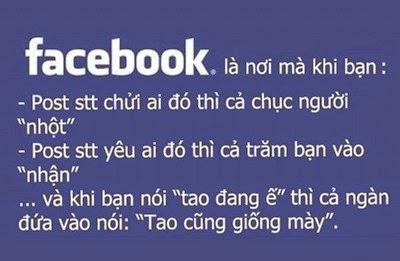 Lịch sự khi chơi trên Facebook