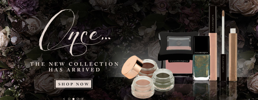Illamasqua, once Collection, eyeshadow beauty
