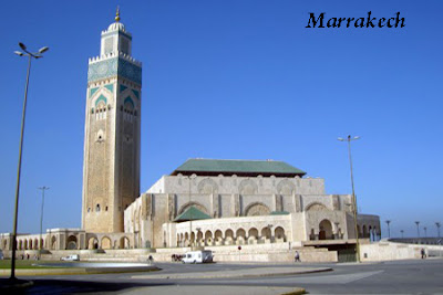 Beautiful Marrakech in Morocco